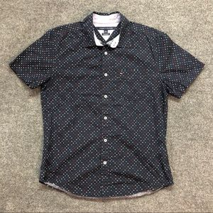 Tommy Hilfiger Dotted Button Down Shirt
